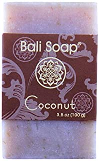 Bali Soap - Coconut Natural Soap Bar, Face or Body Soap Best for All Skin Types, For Women, Men & Teens, Pack of 3, 3.5 Oz each