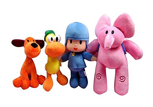 DS KNUFFIGES *POCOYO SET* 15-30 cm PATO ELLY LOULA