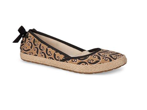 Hot Sale UGG Australia Womens Indah Marrackech Slip-On Black Size 6.5