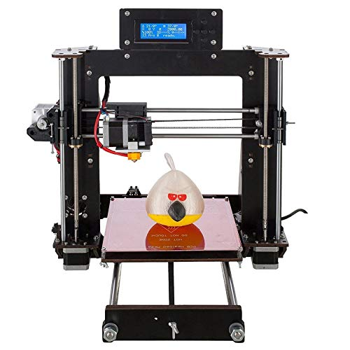 SAFGH 2020 New Desktop A8 DIY 3D Printer Kits, High Accuracy Self-assembly, ProB DIY I3 Personal Portability 3D-Printers,support SD Card,with10mx1.75mm ABS/PLA Filament (DIY1)