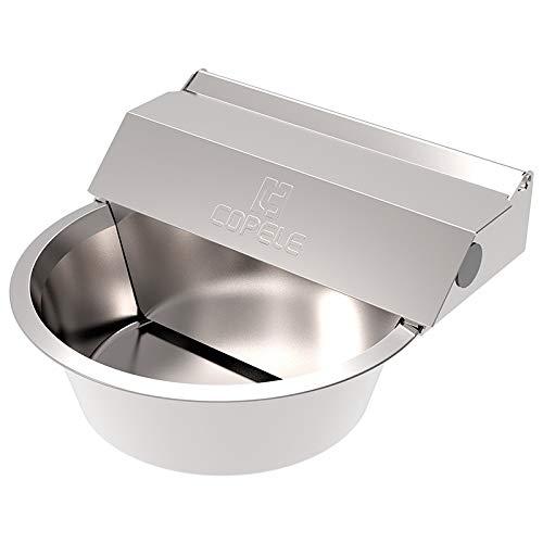 COPELE Bebedero Acero INOX Perros Nivel Constante Cleansy XL