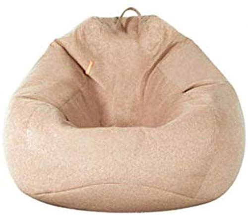 LXH-SH Sofá Perezoso Sofá Sofá Lazy Bean Bag Simple de la Sola Creativo Tatami Epp Patrón Salón Dormitorio Perezoso Silla cómoda, Beige Sofá Lento