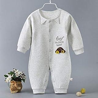 TZOU Infant Newborn Baby Lovely Soft Cotton Long-Sleeved Cute Romper Jumpsuit 7# 80cm