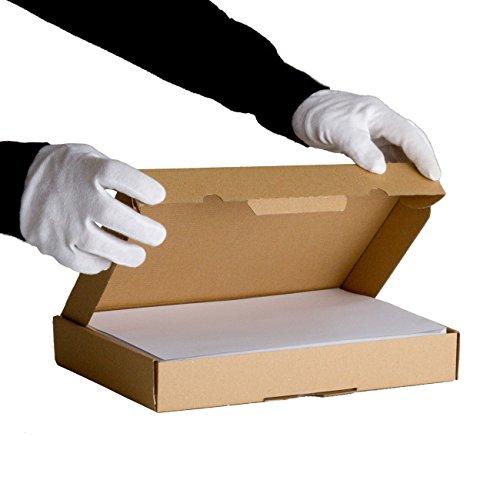 Lot de 25 Boîtes postales extra-plates format 305x220x45 mm