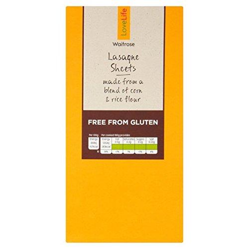 Waitrose Love Life Glutenfreie Lasagneblätter, 250 g