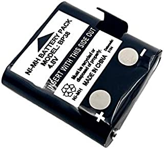 Replacement Battery Compatible with UNIDEN UHF Handheld Radio BP38 BP40 BP-38 BP-39 BP-40 BT-537 BT-1013 BT1013 UH038 UH03...