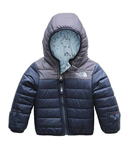 Product Image of the The North Face Infant Reversible Perrito Jacket, Cosmic Blue, 0-3 Months