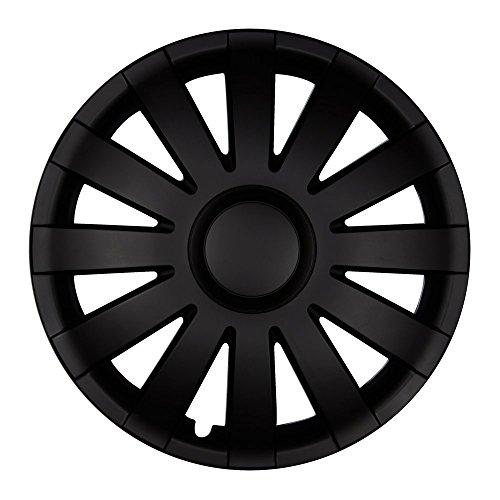 Autoteppich Stylers 13 Zoll Radkappen AGAT Schwarz matt (Farbe und Größe wählbar!)
