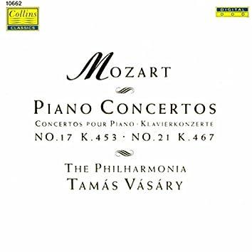 Mozart: Piano Concertos No. 17 & No. 21
