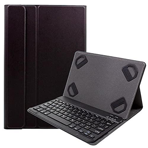 Funda Slim con Teclado Bluetooth Extraíble para Tablet Bq Edison - Aquaris E10 - Tesla - Livingstone - Aquaris M10 - Sony Xperia Z 2 - Lenovo A10-70