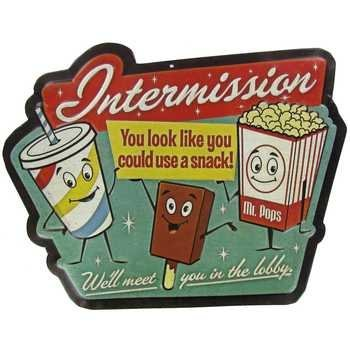 vintage popcorn sign - 1
