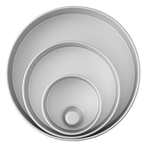 Wilton Decorator Preferred Aluminum Round Cake Pans Set, 4-Piece