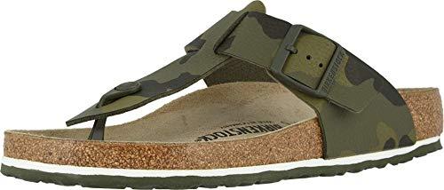 Birkenstock Mens Medina Sandal, Desert Soil Camouflage Green, Size 44 EU (11-11.5 M US Men)