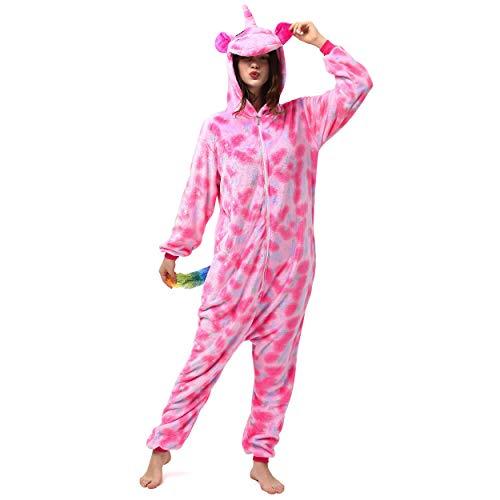 Katara 1744 Jumpsuit, UnisexÊ? Erwachsene, Einhorn Pink, Körpergröße 165-175cm (L)