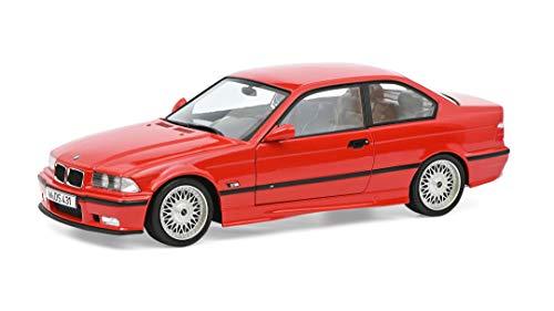 Solido BMW E36 M3 con Llantas BBS, Modelo de Coche, Escala 1:18, Rojo (421185830)