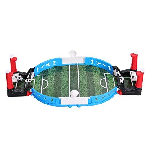 Hakka Mesa de Juegos Mini Futbolín Máquinas Tragamonedas Clásicas para Niños Adultos Juego de Fútbol de Mesa Juguete Interactivo Oficina en Casa