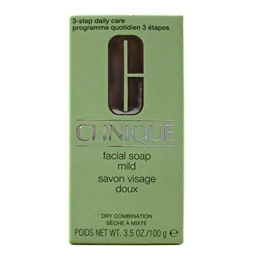 Clinique 3-Phasen-Systempflege Facial Mild Nachfüllung Gesichtsseife, 100 g