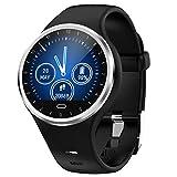 LQIAN Smart Watch Kompatibel mit Android iOS Sport Fitness Kalorienarmband Tragen Sie Smart Watch Bluetooth/Schrittzähler/Herzfrequenz/Schlafanalyse IP67/Unterstützung Kompatibel mit...