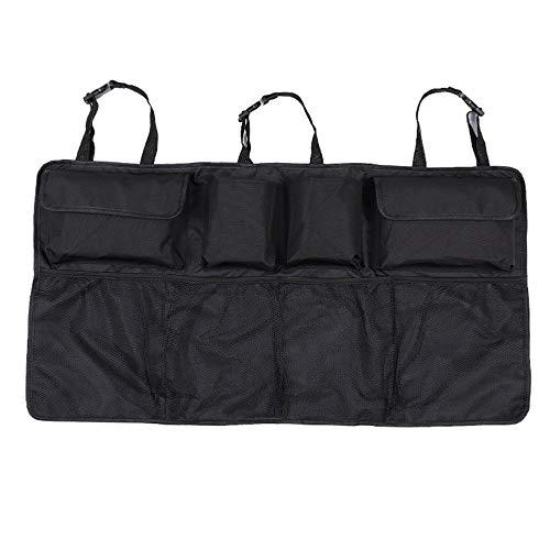 MIOAHD Siège arrière de Voiture Sac de Rangement arrière Multi Filets Suspendus Poche Coffre Sac Organisateur sièges d'auto Rangement arrière Accessoires intérieurs