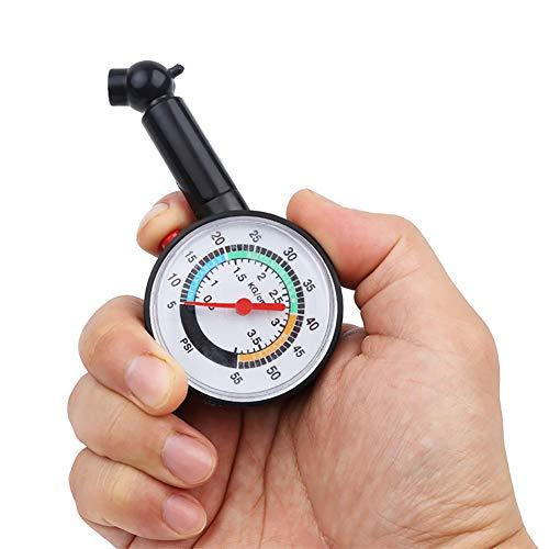 Reifendruckmesser, Messuhr Tester, 55 PSI Hochpräzisions-Digital-Reifen Manometer, Gebrauchtwagen in PKW, LKW, Motorräder, Fahrräder