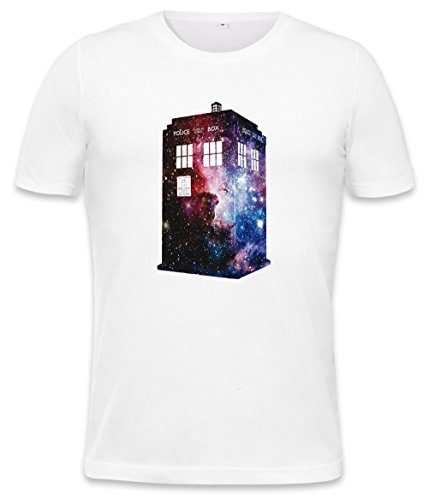 Galaxy Time Machine Mens T-shirt Large