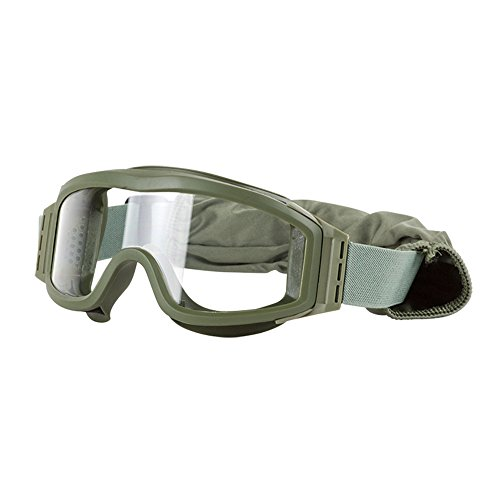 Valken Airsoft Tango Goggles, with 3 Lenses, Olive Frame