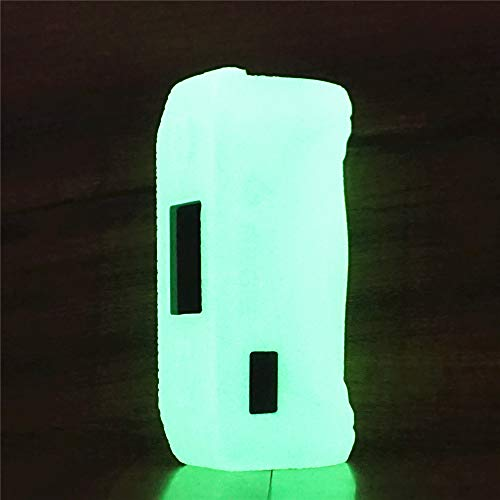 ModShield for Geekvape Aegis Solo 100W TC Silicone Case ByJojo Geek Vape Protective Cover Shield Skin Sleeve Wrap (Glow-in-The-Dark)