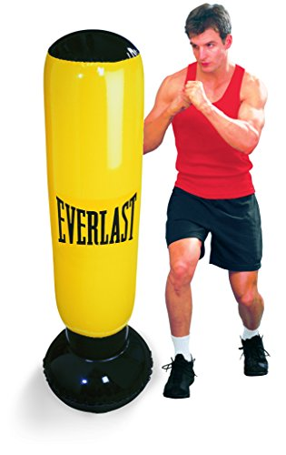 Everlast 14EV2628YE - Saco Boxeo Hinchable, Color Amarillo