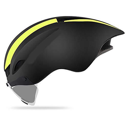 ヘルメット 自転車 YKBBA 自転車用ヘルメットアップグレード版ロードバイクコンペティションTTタイムトライ...