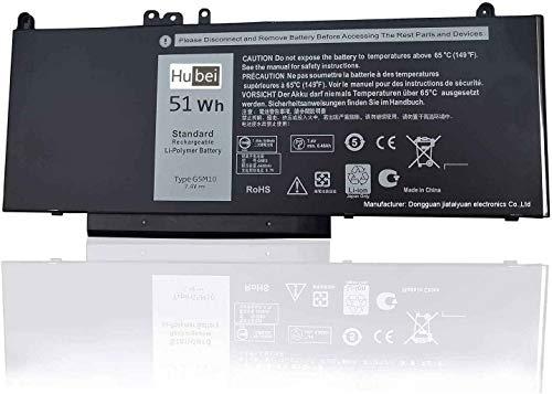 G5M10 8V5GX R9XM9 WYJC2 1KY05 Sostituzione della batteria del laptop per Dell Latitude 14 E5450 Latitude 15 E5550 Latitude 12 E5250 Notebook[7.4V 51Wh]
