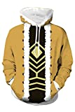 Hawks Sudadera con capucha My Hero Academia Boku No Hero Takami Keigo Cosplay Disfraz Anime Sudaderas Chaqueta,XL