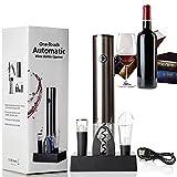 JeoPoom Tire Bouchon Électrique, Rechargeable Ouvre Bouteille Automatique, Ouvre Bouteille Automatique de Vin pour Les Amateurs de Vin