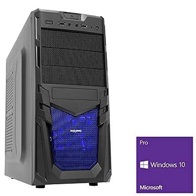 OCHW Viper 3.5GHz Fast Dual Core, Home Office, PC, Desktop Gaming Computer AMD Athlon 3000G Dual Core, ATI Radeon HD Vega 3 Graphics, 1000GB HDD Hard Drive, 8GB 2400MHZ RAM, USB 3.0, Windows 10 Operating Software
