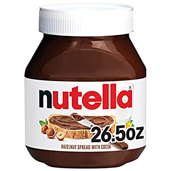 Nutella Chocolate Hazelnut Spread Perfect Topping for Pancakes 26.5 Oz  Pack of 1