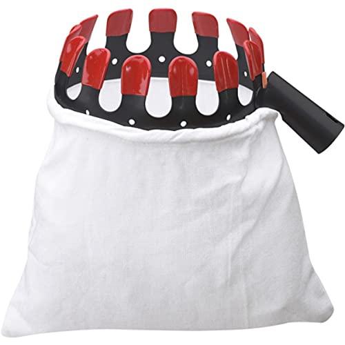 Meister Ramasse-fruits confort | Acier revêtu par pulvérisation avec capuchons | Ø 130 mm | Sac en coton | Récupérateur de pommes | Aide à la récolte | Collecteur de fruits