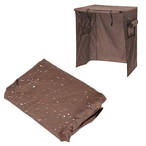 Aigend Cubierta para Jaula de pájaros - Cubierta Impermeable para Jaula de pájaros Cubierta para jardín al Aire Libre Patio Cubierta de Muebles a Prueba de Polvo Protección