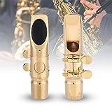 Naroote Sax Bocchino per Sassofono 6C Alto, con Tappi di Protezione Accessori per Strument...