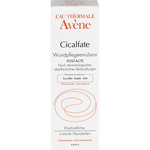 Avene Cicalfate - Emulsione post-procedura per la guarigione della pelle, 40 ml