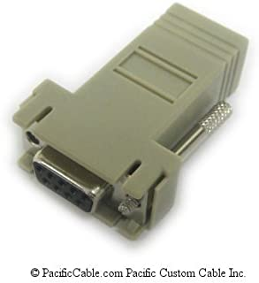 Cisco DB9 Female to RJ45 Female Serial Modular Adapter Terminal - 74-0495-01