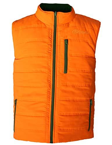 BENISPORT Gilet réversible Kaki-Naranja Alpine, XXL