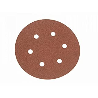 Faithfull AD150120H Hook and Loop Sanding Disc DID2 Holed 150mm x 120g (Pack of 25) (B000C7511O) | Amazon price tracker / tracking, Amazon price history charts, Amazon price watches, Amazon price drop alerts