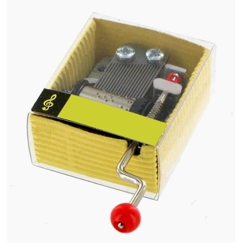 Caja de música / caja musical / mecanismo musical / movimiento musical de manivela - Marcha fúnebre por una marioneta (Charles Gounod)