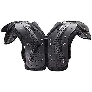 Schutt Sports Varsity Flex 4.0 Skill Football Shoulder Pads, Black, Small