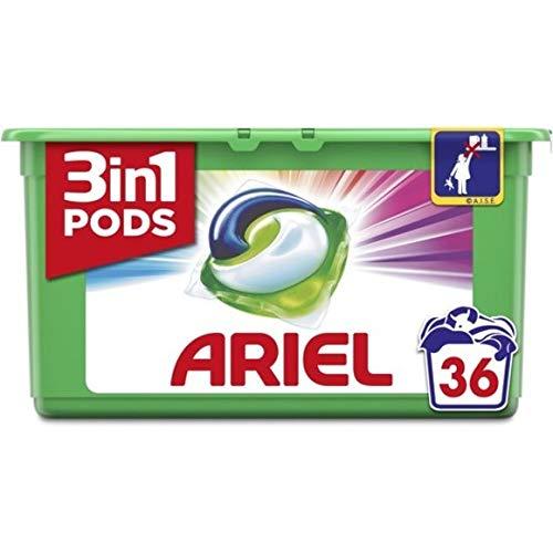 Ariel Wasmiddel Pods Color - Box met 36 capsules, 972 g