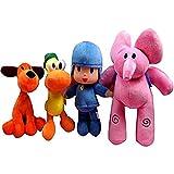 Uymkjv 1430cm 4 Pocoyo POTO Plush Toys LLENADO LLENADO Juguete Muñeca de Animales Niños Niños Regalo...