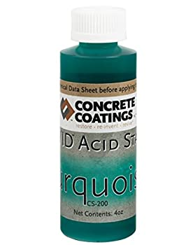 VIVID Acid Stain - 4oz - Turquoise  Lighter Green  …