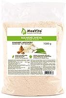 MeaVita amandelmeel, natuurlijk, geblancheerd, per stuk verpakt (1 x 1 kg)