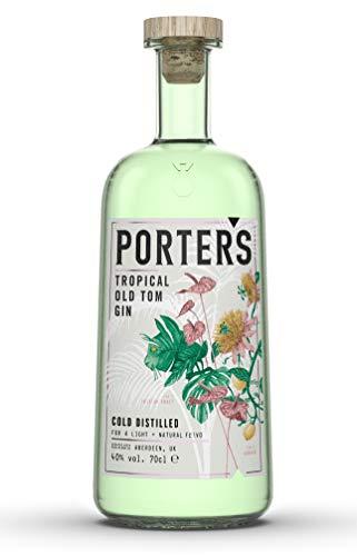 Porter's Porter's Tropical Old Tom Gin, 40% 70cl Gin (1 x 0.7 l)