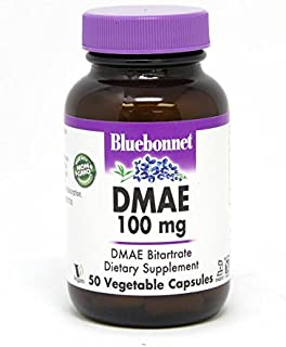 Bluebonnet Nutrition DMAE 100 mg, 50 Count