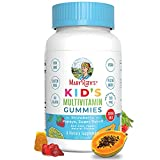 Vegan Kids Multivitamin Gummies by MaryRuth's | 2 Month Supply | Organic Ingredients for Immunity Bones Muscles | 260 mcg Methylfolate Sugar Free Non-GMO | Great Tasting Chewable Vitamins for Children